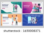 medical support and...   Shutterstock .eps vector #1650008371