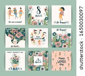 international women s day.... | Shutterstock .eps vector #1650030097