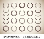 collection of different vintage ... | Shutterstock .eps vector #1650038317