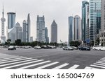 the century avenue of street... | Shutterstock . vector #165004769