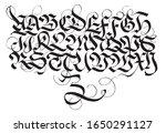 german fraktur gothic... | Shutterstock .eps vector #1650291127