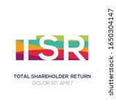 creative colorful logo   tsr...