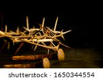 Crown Of Thorns And Nails...