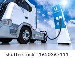 Hydrogen Logo On Gas Stations...