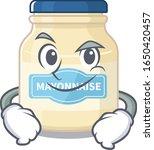 cool mayonnaise mascot... | Shutterstock .eps vector #1650420457