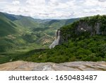 Hierve El Agua Waterfall Is A...