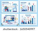 pharmacy delivery  call center  ...   Shutterstock .eps vector #1650540997