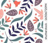 flower pattern designs... | Shutterstock .eps vector #1650672094