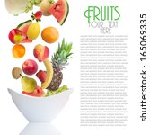 fruits | Shutterstock . vector #165069335