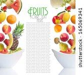 fruits | Shutterstock . vector #165069341