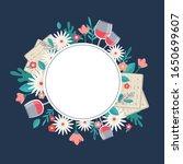 pesah celebration concept  ...   Shutterstock .eps vector #1650699607