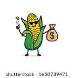 Corn Mascot Character Design...