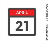 red and black calendar icon w...