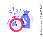 Fast Cash And Stopwatch  Small...