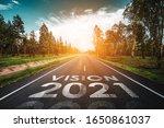 Vision 2021 Written On Highway...