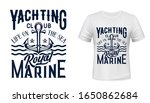 anchor t shirt print of... | Shutterstock .eps vector #1650862684