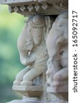 the famous temples of khajuraho ... | Shutterstock . vector #165092717