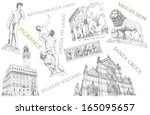 florence view illustration | Shutterstock . vector #165095657