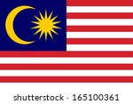 vector background of malaysia... | Shutterstock .eps vector #165100361