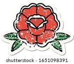 distressed sticker tattoo in... | Shutterstock .eps vector #1651098391