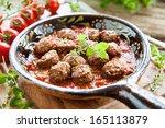 spanish tapas | Shutterstock . vector #165113879