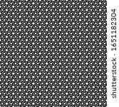 seamless pattern. quadrangular  ... | Shutterstock .eps vector #1651182304
