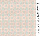 ikat geometric folklore... | Shutterstock .eps vector #1651187617