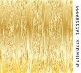 metallic gold vertical texture... | Shutterstock .eps vector #1651189444