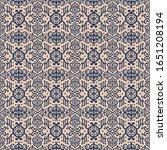 ikat geometric folklore... | Shutterstock .eps vector #1651208194