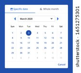 date picker components ui...