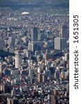 the densely populated city | Shutterstock . vector #1651305