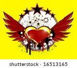 flying heart   Shutterstock . vector #16513165