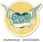 iconic distressed sticker... | Shutterstock .eps vector #1651316641