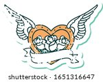 iconic distressed sticker... | Shutterstock .eps vector #1651316647