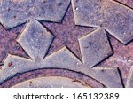 iron stars | Shutterstock . vector #165132389
