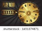 gold jackpot casino fortune...   Shutterstock .eps vector #1651374871