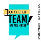 hiring and join our team... | Shutterstock .eps vector #1651467127