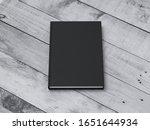 black book or notebook mockup...   Shutterstock . vector #1651644934