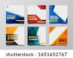 sport social media post... | Shutterstock .eps vector #1651652767