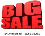 big sale | Shutterstock . vector #165165287