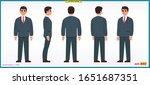 people character business set....   Shutterstock .eps vector #1651687351