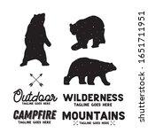 bear logo builder element...   Shutterstock .eps vector #1651711951