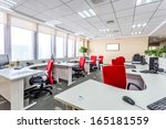 interior of a modern office | Shutterstock . vector #165181559