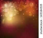 shimmering multi colored lights ... | Shutterstock . vector #165184535