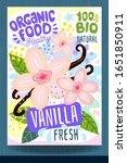 abstract splash food label... | Shutterstock .eps vector #1651850911