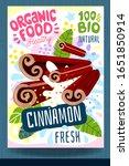 abstract splash food label...   Shutterstock .eps vector #1651850914
