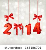 happy new year 2014  new year... | Shutterstock . vector #165186701