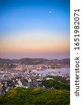 nagasaki city view in the... | Shutterstock . vector #1651982071