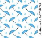 falling tilted water droplet... | Shutterstock .eps vector #1652007274