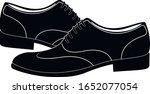 men's classic leather shoe....   Shutterstock .eps vector #1652077054